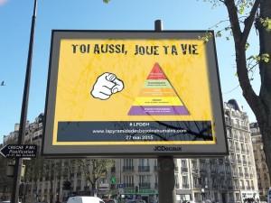 Une affiche (fictive, donc !) de la campagne du jeu.