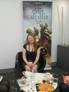 Andrea Cremer et le délicieux accueil des éditions Lumen. Top !